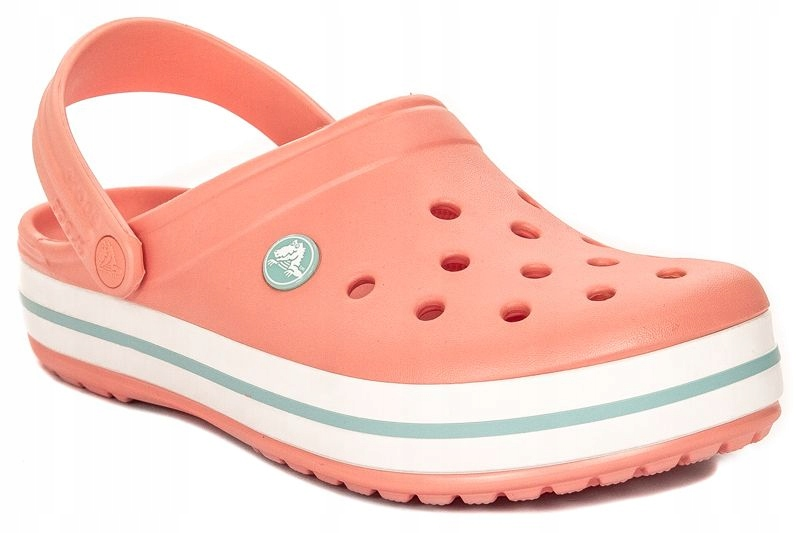 Klapki Crocs r.37/38 Melon/Ice Blue W7 11016-7H5