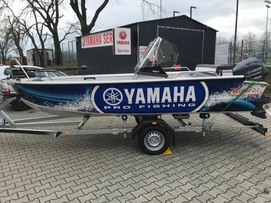 Łódź wędkarska Buster M2 4,86m Yamaha F40 JAK NOWA