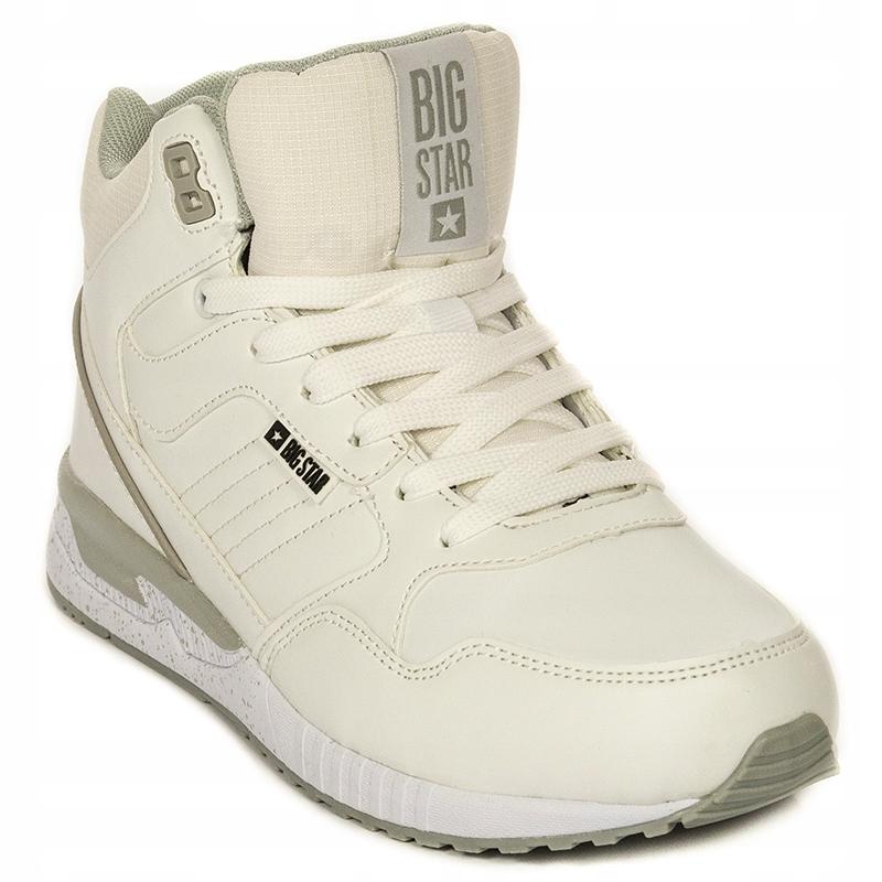 Buty zimowe Big Star ocieplane białe BB274638 40 Ceny i