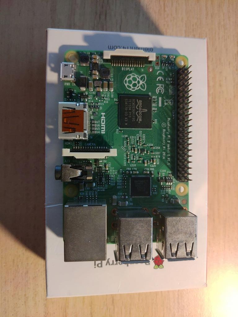 Raspberry Pi 2 B (V1.1) idealne