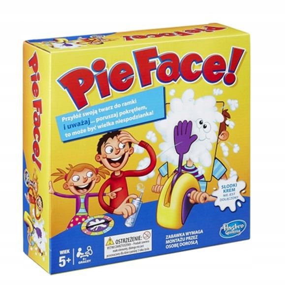 Gra Dla Dzieci Ciastem W Twarz Hasbro Pie Face 6728799656 Oficjalne Archiwum Allegro