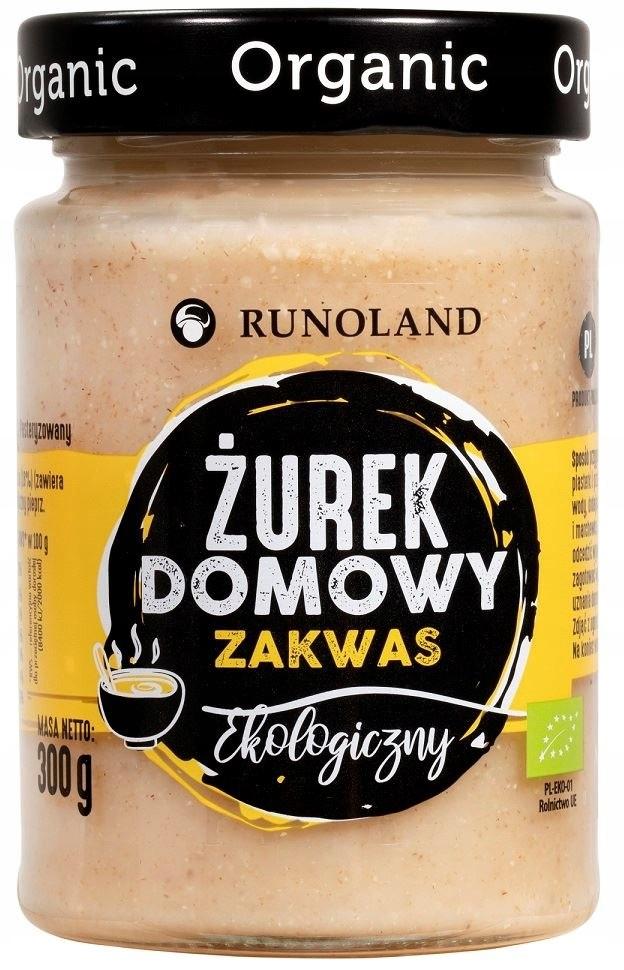 ŻUREK DOMOWY BIO 300 g - RUNOLAND
