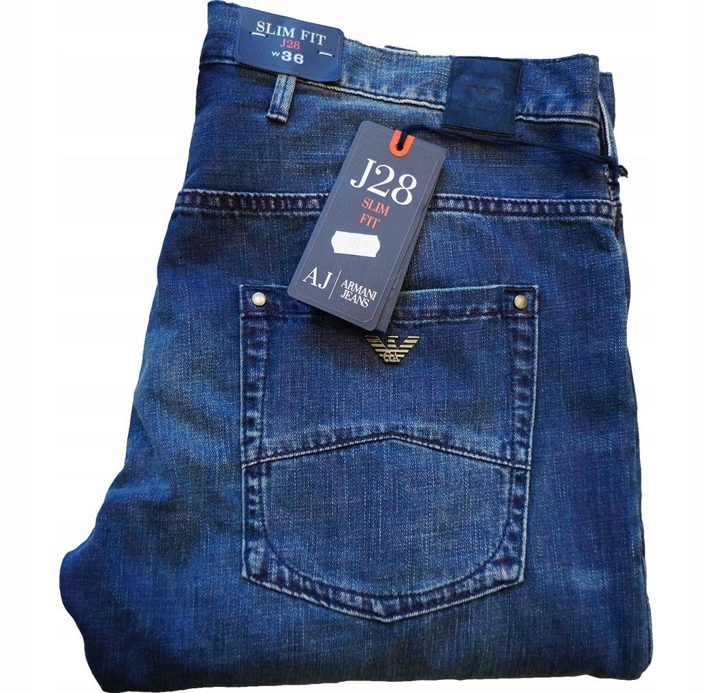 ARMANI spodnie 36 (Pas 96cm) Oryginał SALE