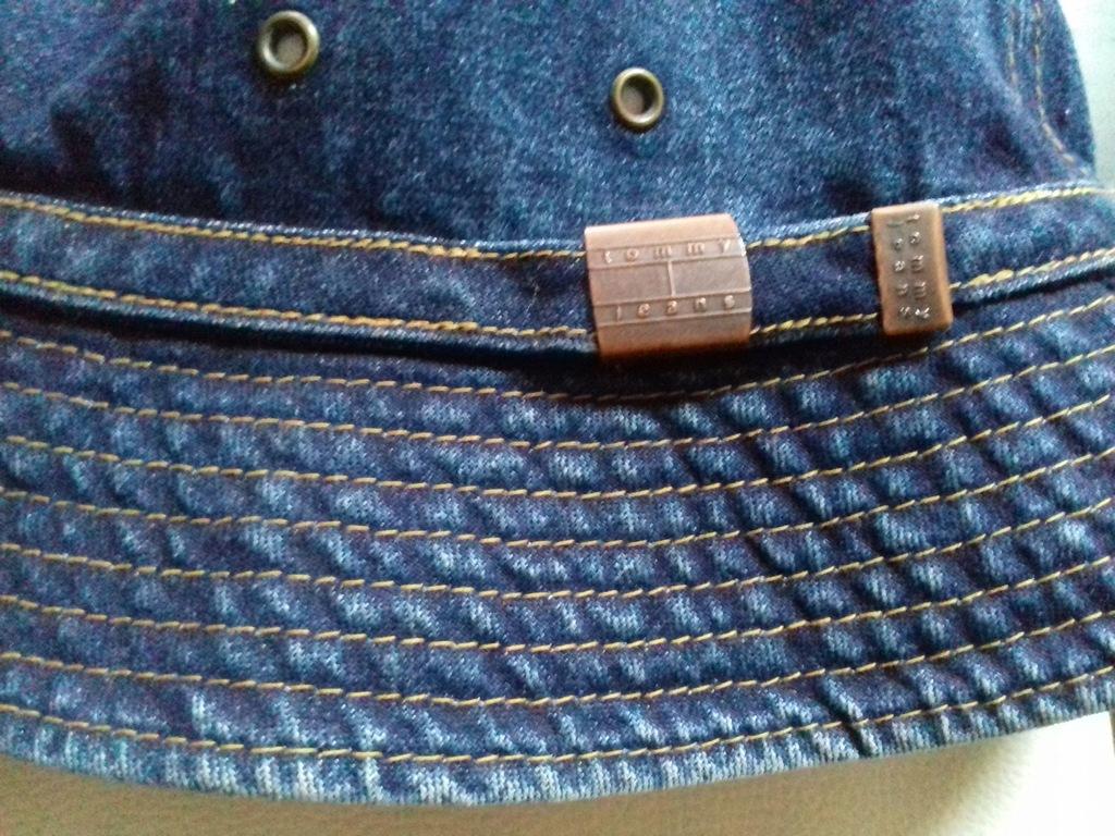 Tommy Hilfiger czapka jeans