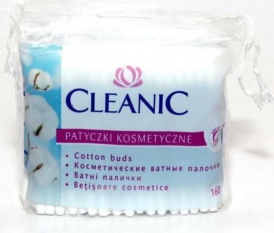 Patyczki kosmetyczne Cleanic a160 folia
