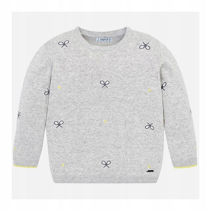 Sweter we wzory dla chłopca Mayoral 3307, roz.98
