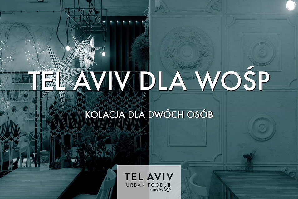 Voucher na kolacje dla w restauracji Tel Aviv Łódź