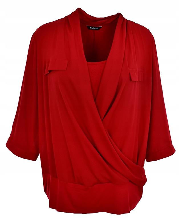 kAT1028 kopertowa bluzka, rozmiar 46