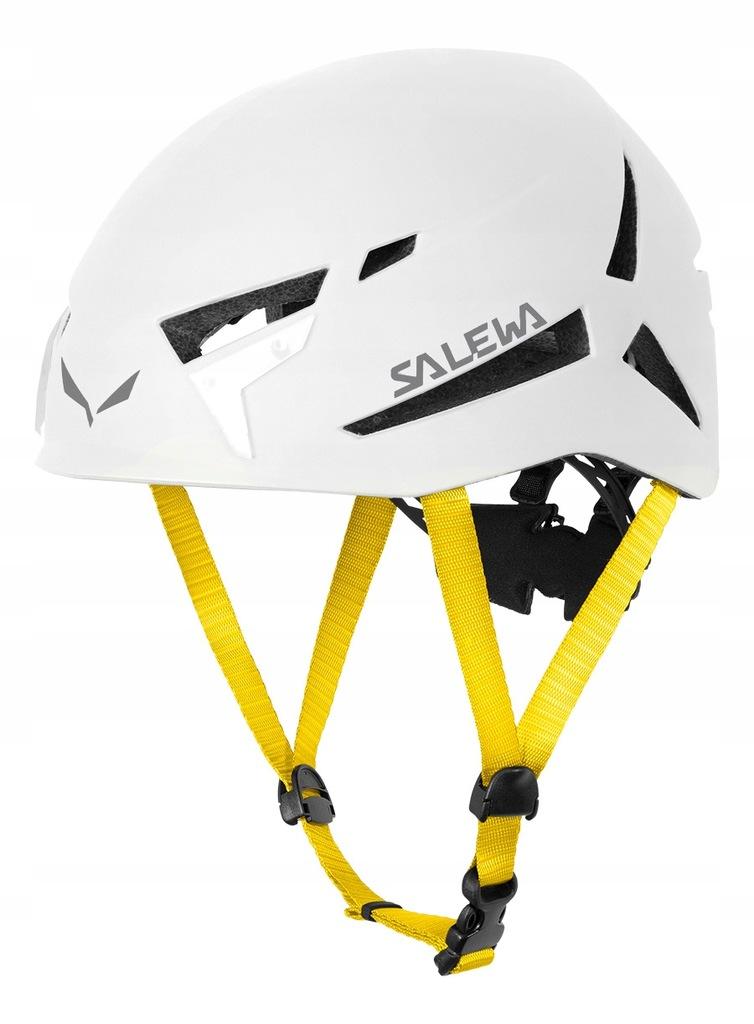 Kask Salewa Vega – white – L/XL dla wspinaczy