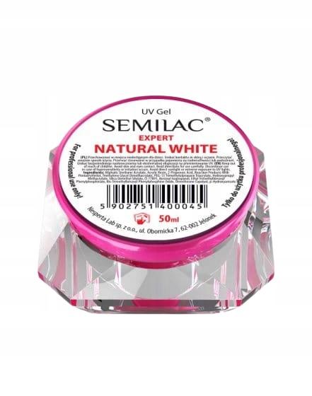 SEMILAC ŻEL EXPERT NATURAL WHITE - BUDUJĄCY 50ML