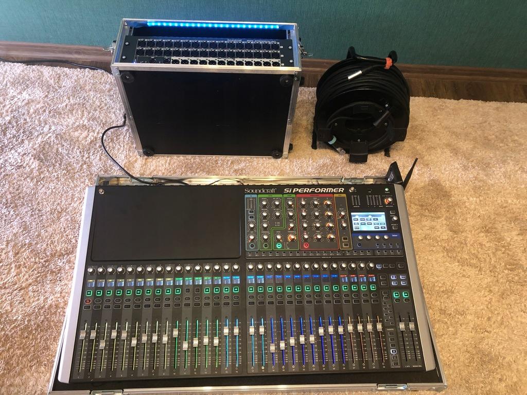 Soundcraft Si Performer 3 Stagebox 32i skrętka 70m