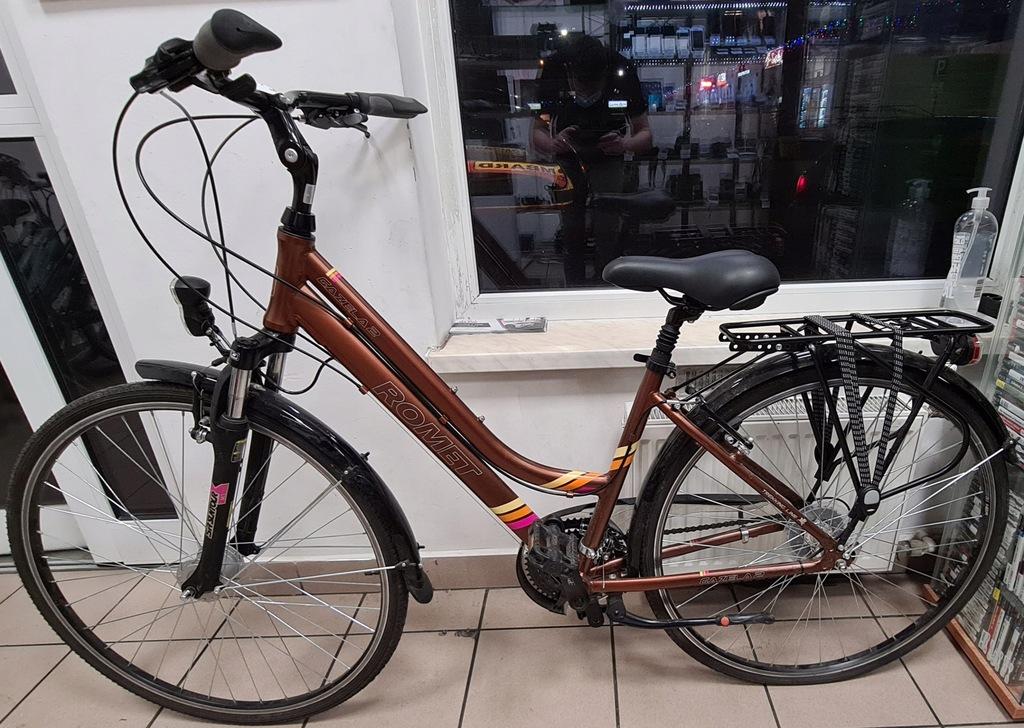 Rower ROMET GAZELA 2 Kolor Brąz ! Rama 17 koła 28