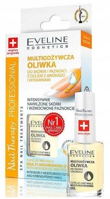 Eveline Nail Therapy Avocado i Witaminy 12 ml