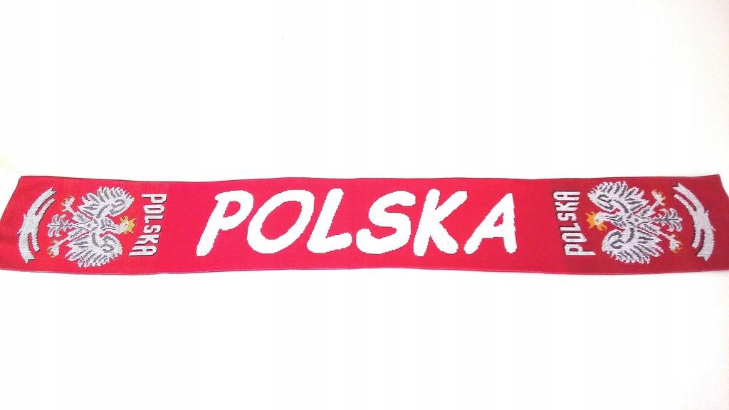 SZAL KIBICA- POLSKA- DZIANY DWUSTRONNY .
