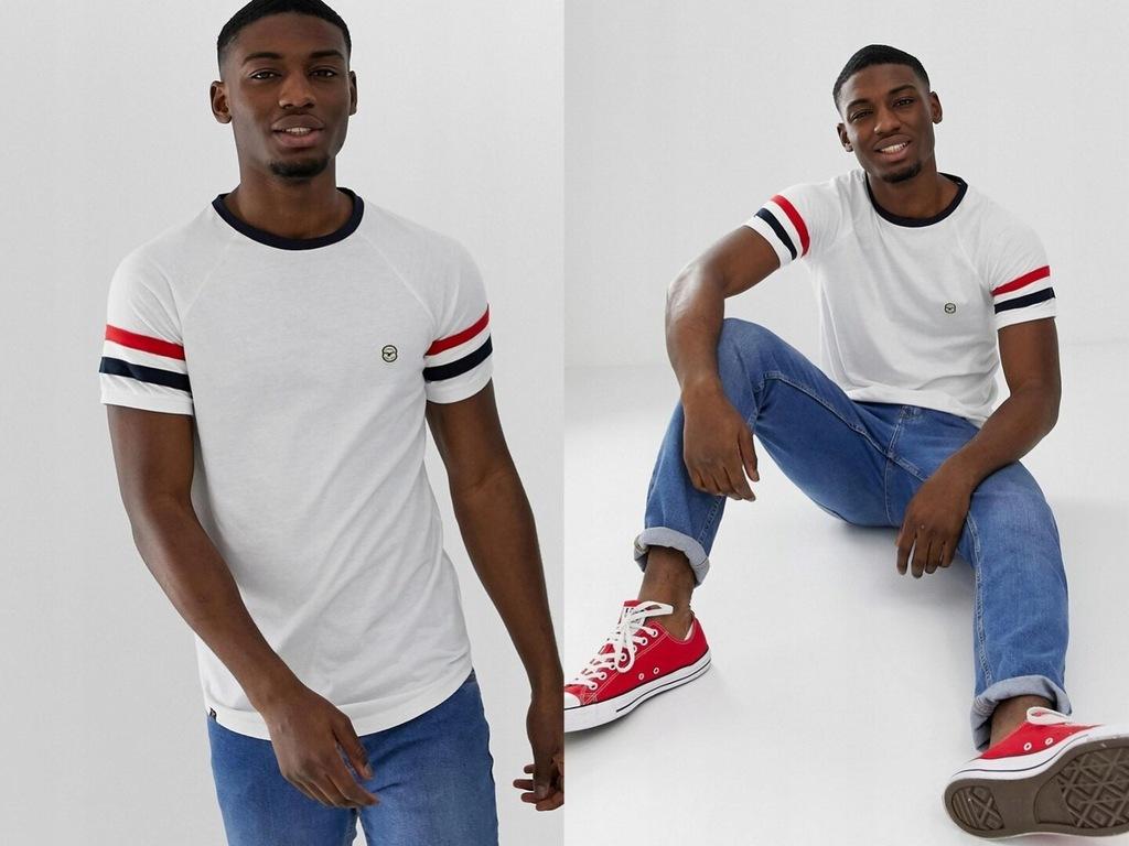 Le Brave biała koszulka T-shirt logo L