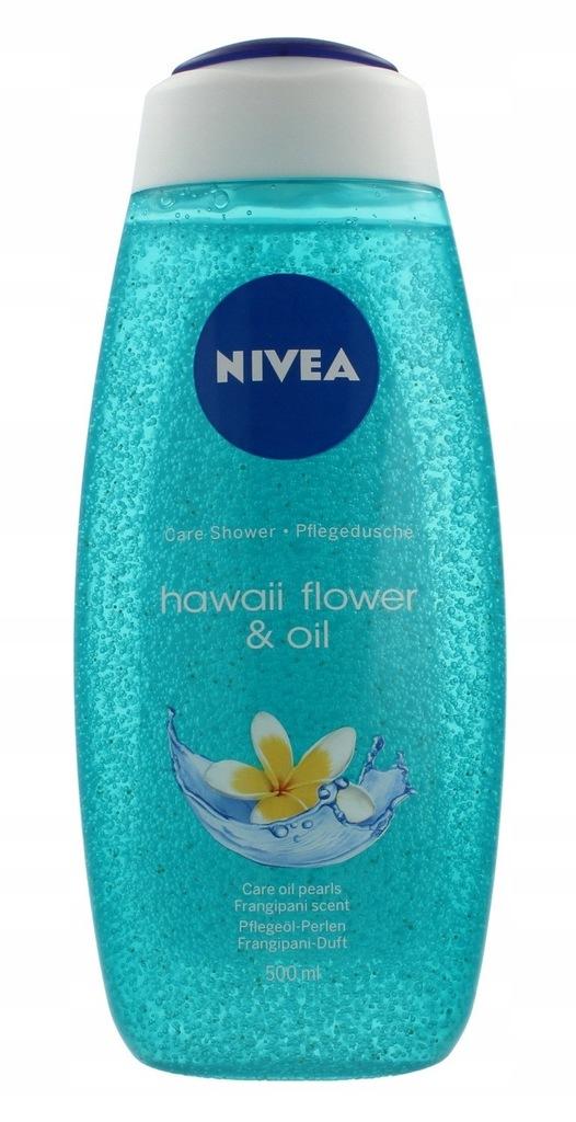 Nivea Żel pod prysznic Hawaii Flower & Oil 500