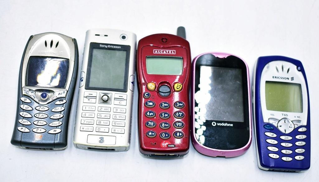 5858-9 ...ALCATEL SONY ERICSSON.... TELEFONY
