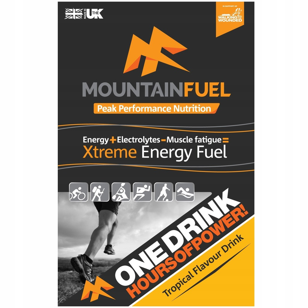 Izotonik Mountain Fuel Xtreme Energy Tropic 180kca