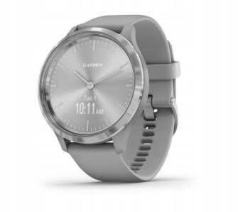 GARMIN VIVOMOVE 3 smartwatch / srebrno-szary