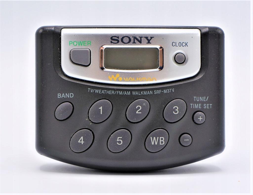 SONY MINI RADIO SPORTOWE SRF-N37V FM AM Belt Clip