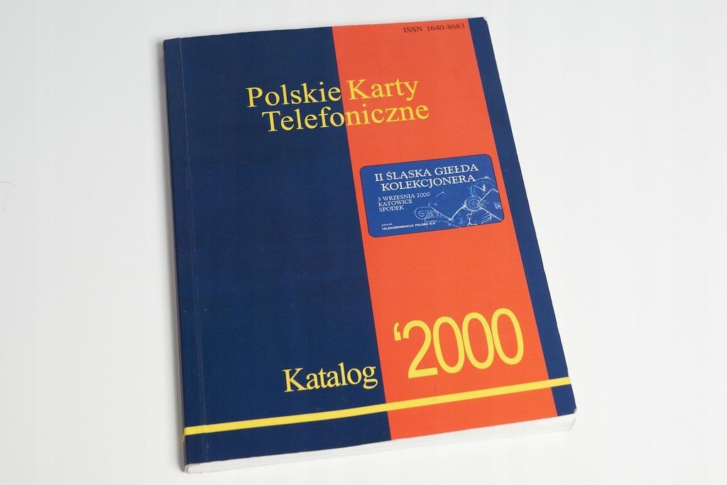 Polskie karty telefoniczne Katalog 2000