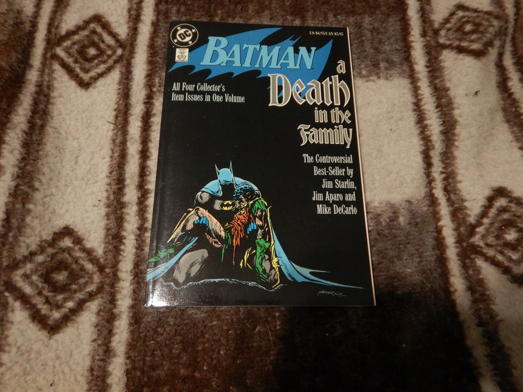 Batman Death in the Familly TPB 1992