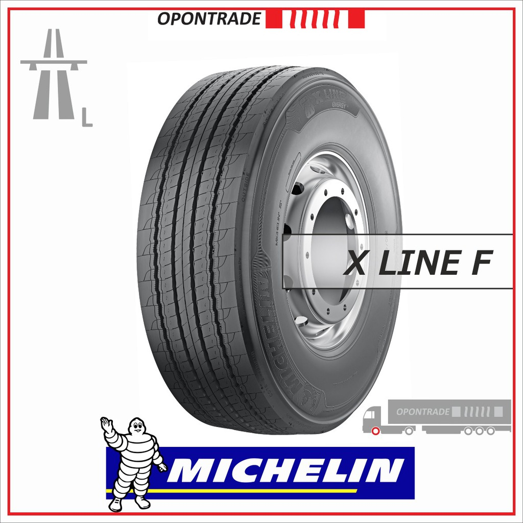 MICHELIN 385/65 R22,5 X LINE ENERGY F komplet 2szt
