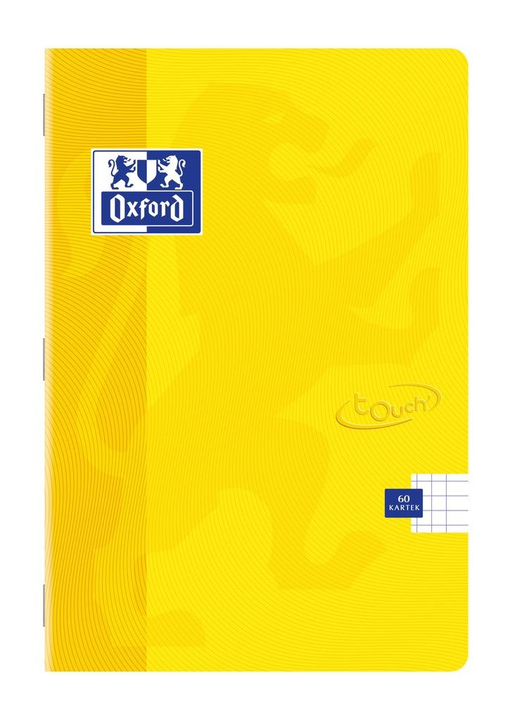 Zeszyt Oxford Touch A5 60 Kratka 90g Zolty 7875482314 Oficjalne Archiwum Allegro