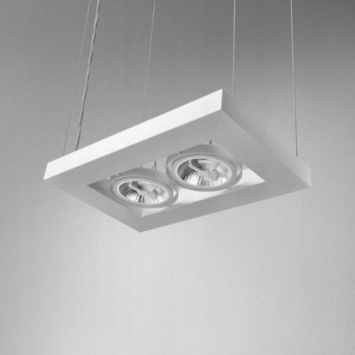 Lampa AQForm CADVA lampa biała 52812-0000-T8-PH-03