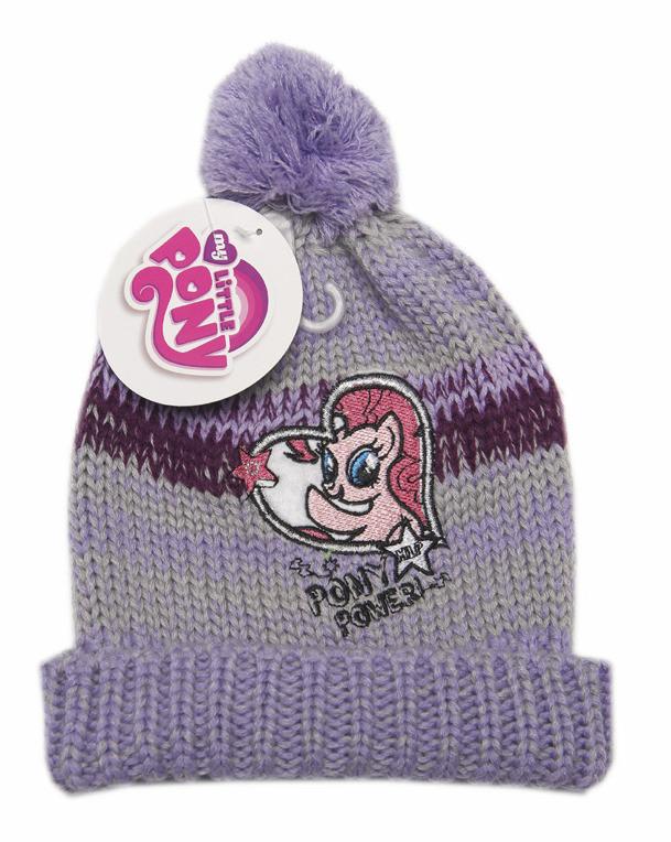 Czapka na zimę dla dziewczynki. My Little Pony *52