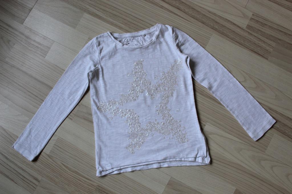 Next bluzka cekinowa gwiazda 110-116