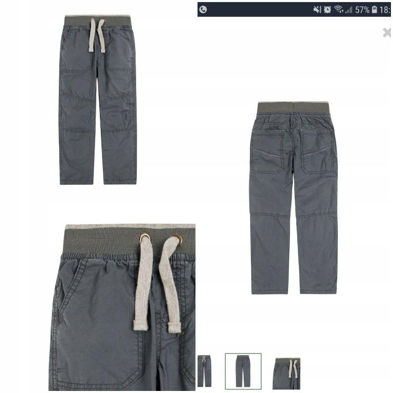 Spodnie ocieplane cool club smyk hm 98