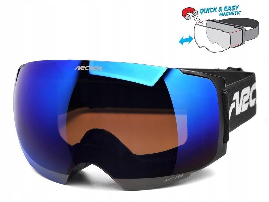 Okulary Arctica Google G-105D magnetyczne soczewki