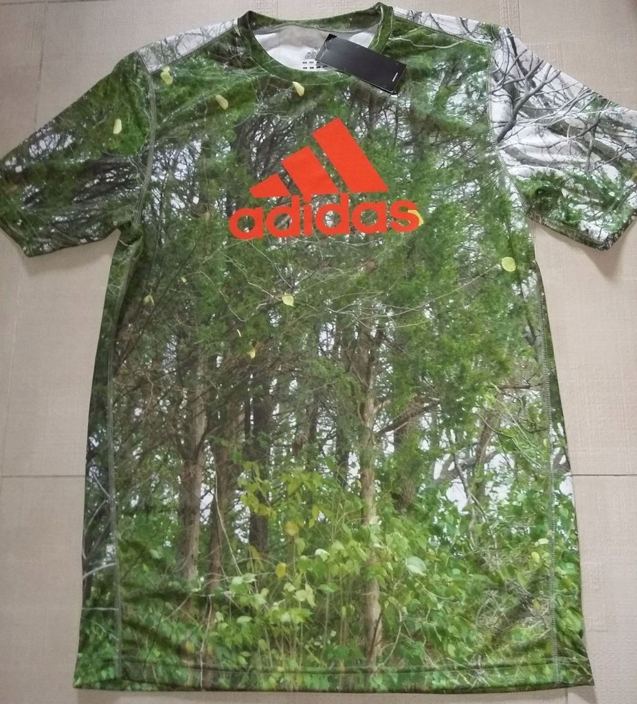 T-shirt Adidas REALTREE z USA L