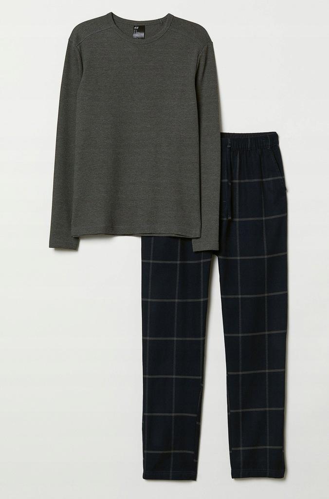 H&M męska piżama L, metka 129 zł