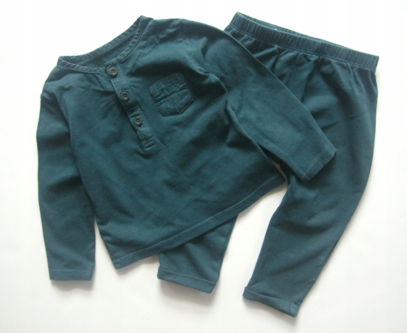 TU* Komplet Bluzka +spodnie *80