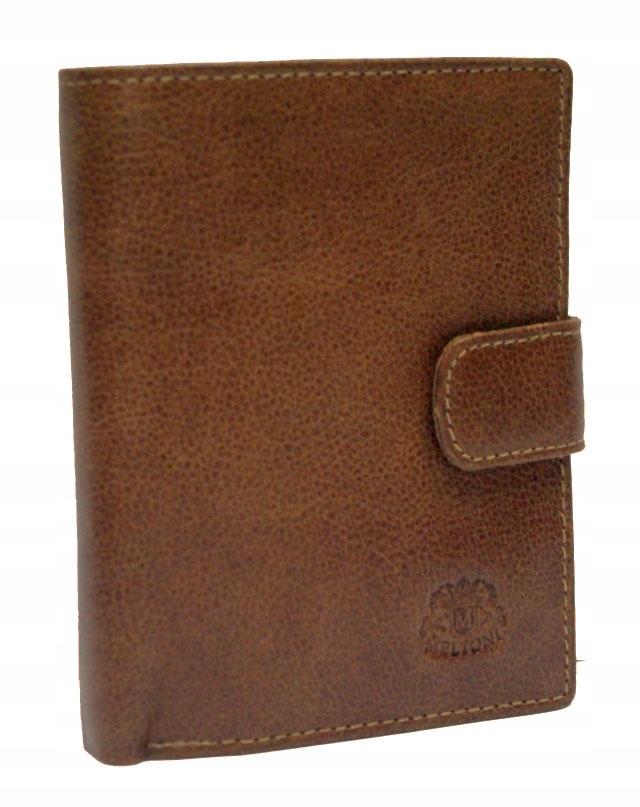 Męski skórzany portfel MELTONI