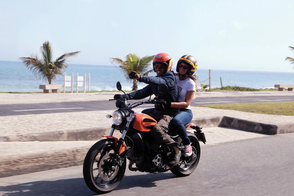 Ducati Scrambler Sixty2 na weekend