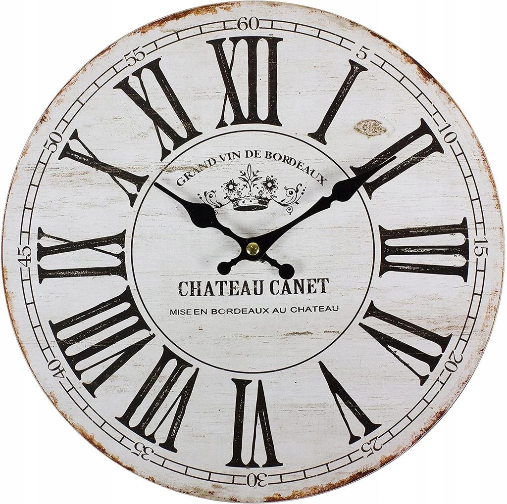 Perla pd design zegar ścienny Vintage 30 cm