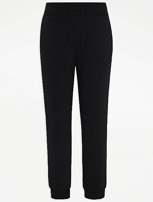 GEORGE spodnie dresowe joggersy black NEW 116-122