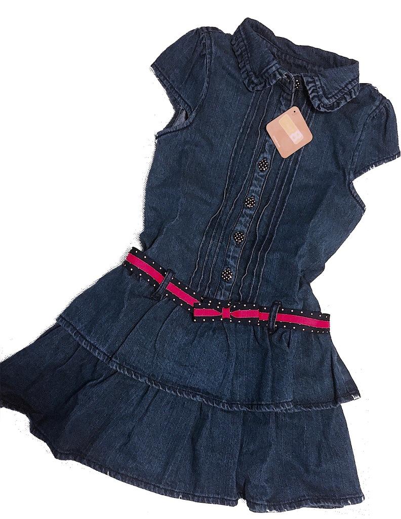 CRAZY8 SUKIENKA Jeans 7l./124