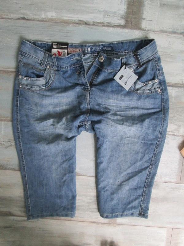 NEW LOOK__ szorty jeans spodenki BERMUDY___48