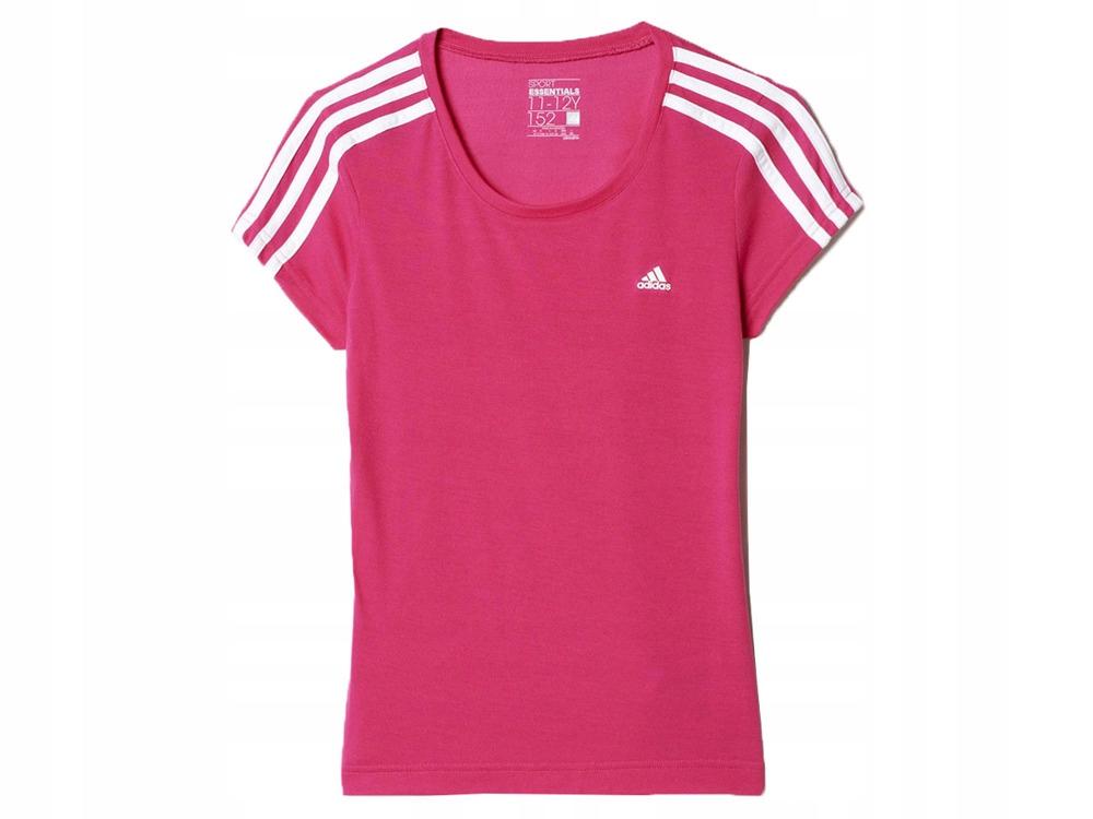 Dziewczęca Koszulka Sportowa ADIDAS AK2137 140