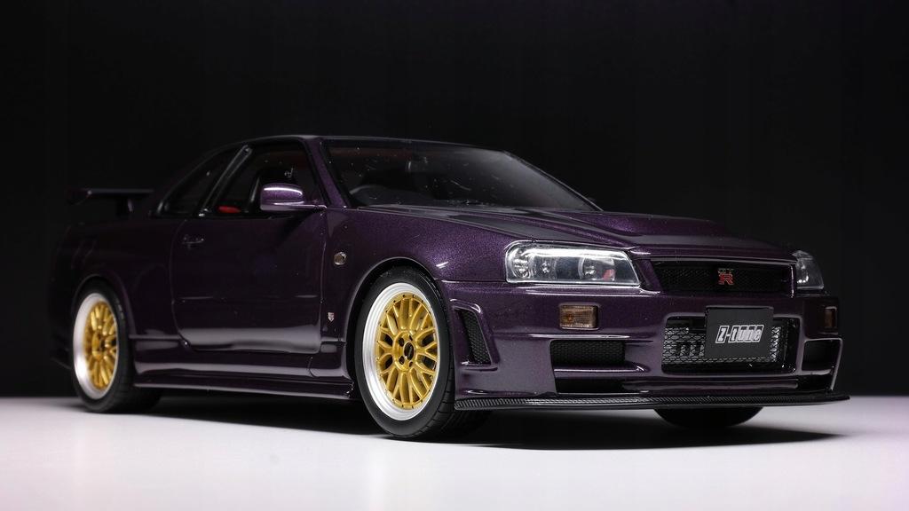 Nissan Skyline Gt R Nismo Z Tune R34 1 18 Otto 8905129991 Oficjalne Archiwum Allegro