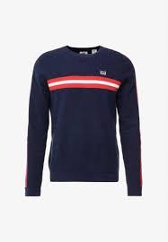 Levis sweter CREWNECK SPORT - ciemnoniebieski