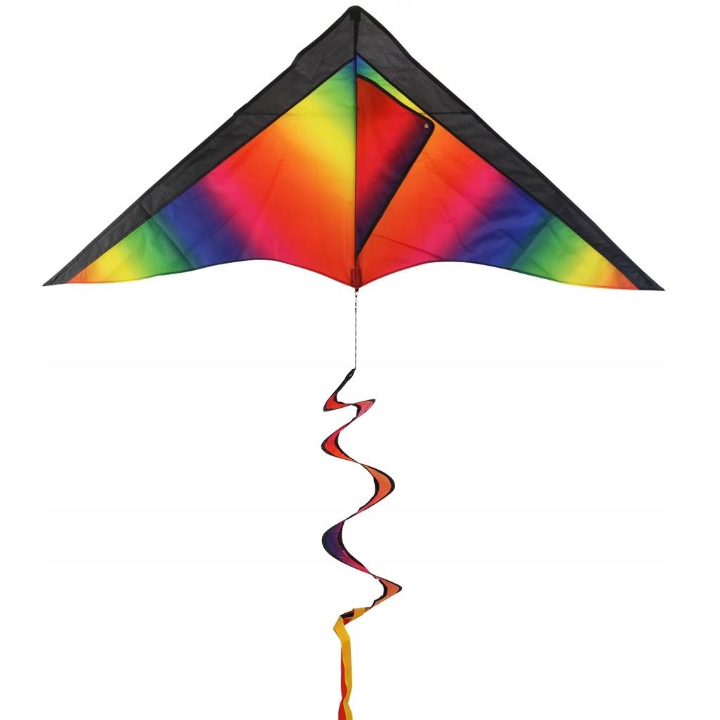 BESTOYARD Rainbow Kite with Stripe Board for Kids