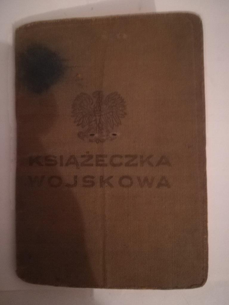 KSIĄŻECZKA WOJSKOWA 1916