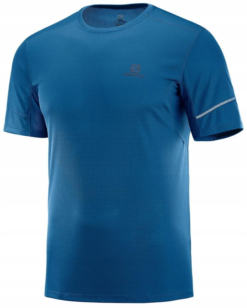 Koszulka SALOMON Agile Short Sleeve TEE Poseidon