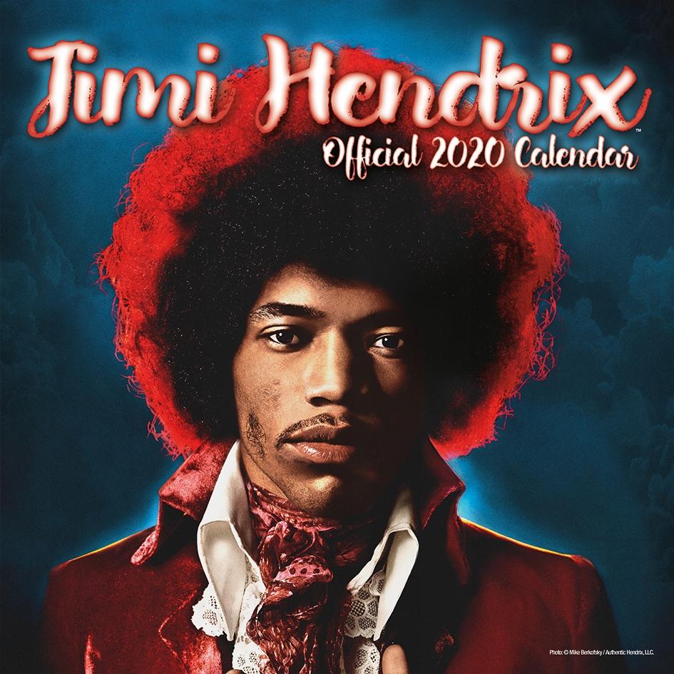 JIMI HENDRIX kalendarz 2020