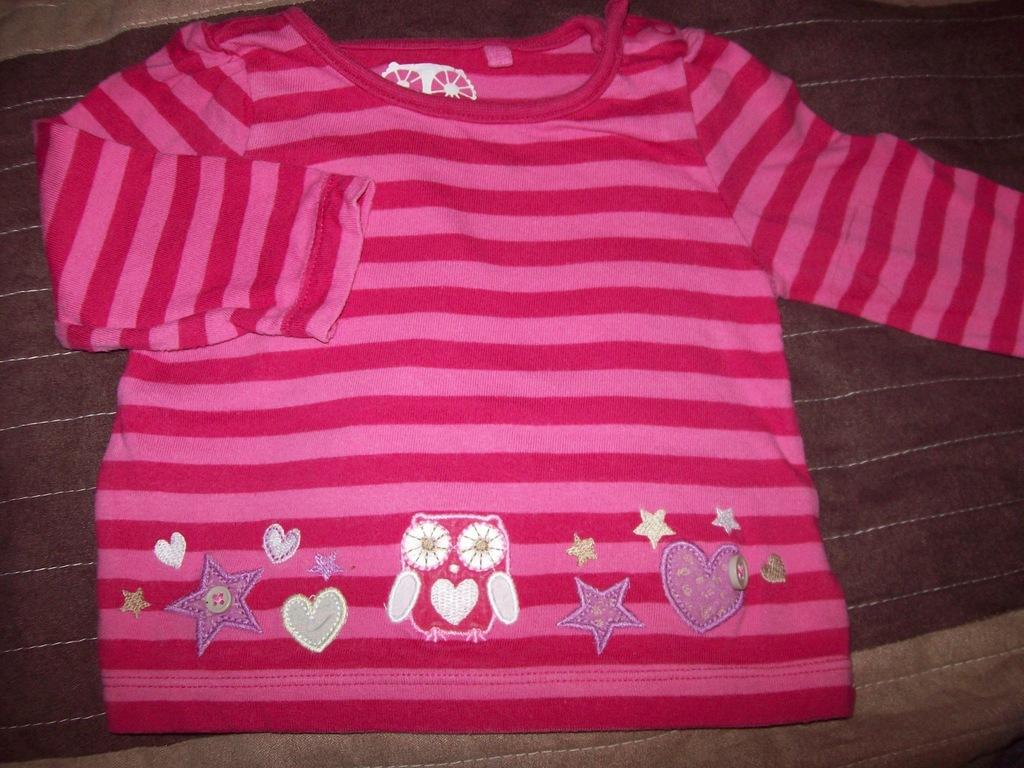 Koszulka bluzka dziecięca dziewczynki TU 68